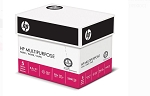 HP Paper, Multipurpose Ultra White, 20lb, 8.5 x 11, Letter, 96 Bright, 2,500 Sheets / 5 Ream (115100C)